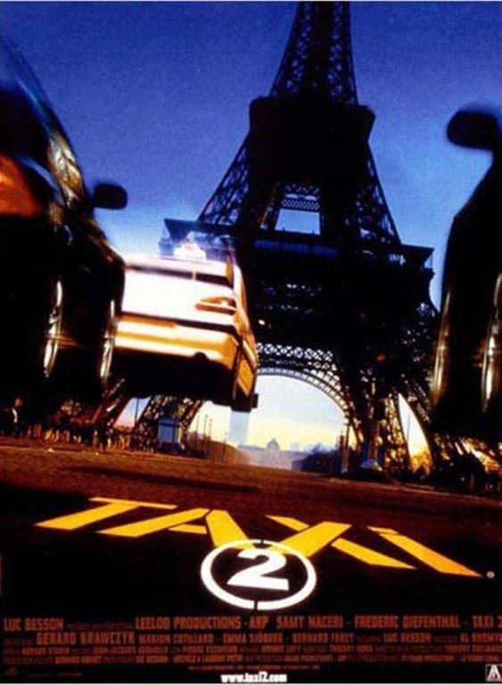 Comédie  Taxi 2